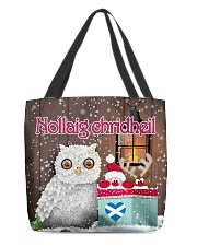 GAELIC MERRY CHRISTMAS All-over Tote thumbnail