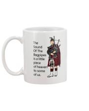 THE SOUND OF BAGPIPES Mug back