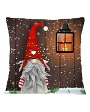 CUTE GNOME SCOTTISH Square Pillowcase back