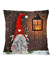 CUTE GNOME SCOTTISH Square Pillowcase front