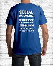 SOCIAL DISTANCING Classic T-Shirt lifestyle-mens-crewneck-back-1