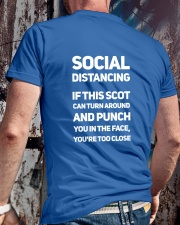 SOCIAL DISTANCING Classic T-Shirt lifestyle-mens-crewneck-back-2