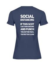 SOCIAL DISTANCING Premium Fit Ladies Tee thumbnail