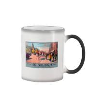 EDINBURGH TRAVEL VINTAGE REPRINT Color Changing Mug thumbnail
