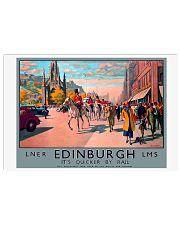 EDINBURGH TRAVEL VINTAGE REPRINT 17x11 Poster front