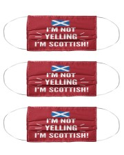 I'M NOT YELLING I'M SCOTTISH Mask tile