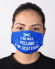 I'M NOT YELLING I'M SCOTTISH Cloth Face Mask - 3 Pack aos-face-mask-lifestyle-01