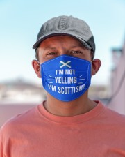 I'M NOT YELLING I'M SCOTTISH Cloth Face Mask - 3 Pack aos-face-mask-lifestyle-06