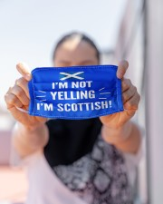I'M NOT YELLING I'M SCOTTISH Cloth Face Mask - 3 Pack aos-face-mask-lifestyle-07
