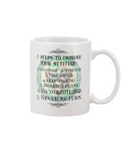 7 STEPS TO IMPROVE YOUR ATTITUDE SCOTLAND Mug thumbnail