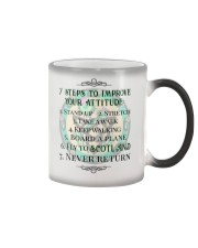 7 STEPS TO IMPROVE YOUR ATTITUDE SCOTLAND Color Changing Mug thumbnail