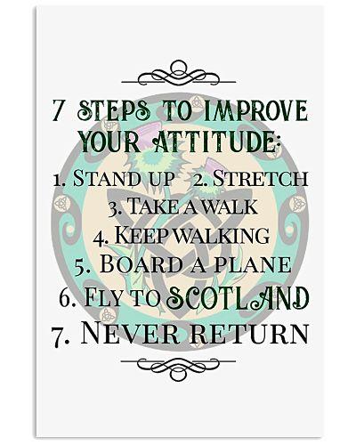 7 STEPS TO IMPROVE YOUR ATTITUDE SCOTLAND