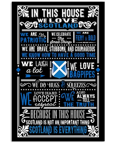 IN THIS HOUSE WE LOVE SCOTLAND