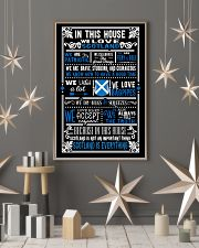 IN THIS HOUSE WE LOVE SCOTLAND 11x17 Poster lifestyle-holiday-poster-1