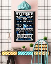 IN THIS HOUSE WE LOVE SCOTLAND 11x17 Poster lifestyle-poster-6