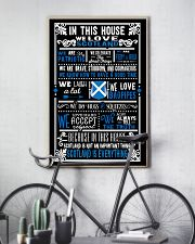 IN THIS HOUSE WE LOVE SCOTLAND 11x17 Poster lifestyle-poster-7