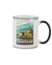 SCOTLAND TRAVEL VINTAGE REPRINT Color Changing Mug thumbnail