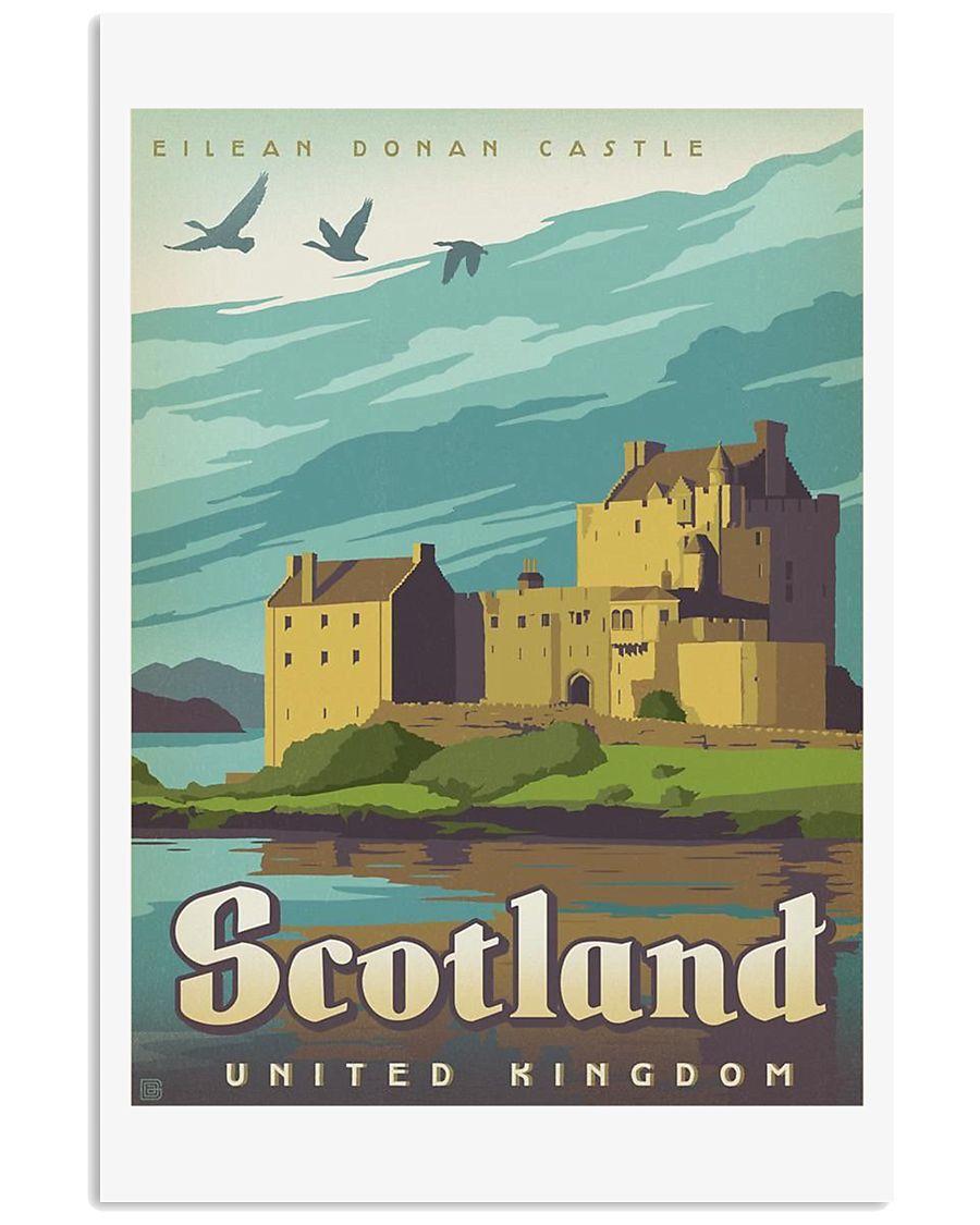 SCOTLAND TRAVEL VINTAGE REPRINT 11x17 Poster
