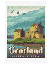 SCOTLAND TRAVEL VINTAGE REPRINT 11x17 Poster front