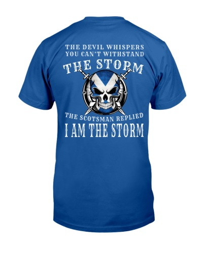 THE SCOTSMAN IS THE STORM