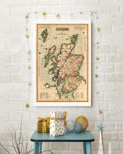 SCOTLAND VINTAGE MAP 1814 REPRINT 11x17 Poster lifestyle-holiday-poster-3