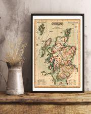 SCOTLAND VINTAGE MAP 1814 REPRINT 11x17 Poster lifestyle-poster-3