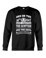 GOD CREATED THE SCOTTISH Crewneck Sweatshirt tile