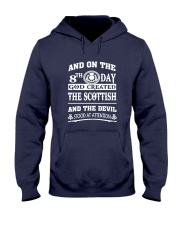 GOD CREATED THE SCOTTISH Hooded Sweatshirt tile