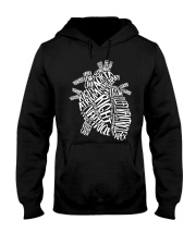 Anatomical Heart Hooded Sweatshirt tile