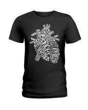 Anatomical Heart Ladies T-Shirt tile