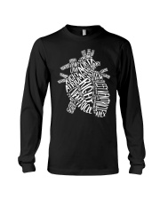 Anatomical Heart Long Sleeve Tee tile
