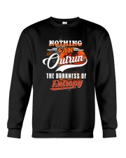 Nothing Can Outrun the Darkness of Entropy Crewneck Sweatshirt thumbnail