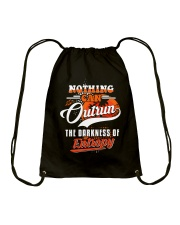 Nothing Can Outrun the Darkness of Entropy Drawstring Bag thumbnail