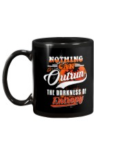 Nothing Can Outrun the Darkness of Entropy Mug back
