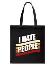I Hate People Tote Bag thumbnail