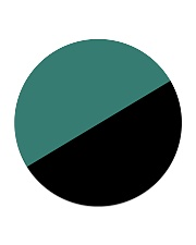 Egoist Flag Circle Coaster thumbnail