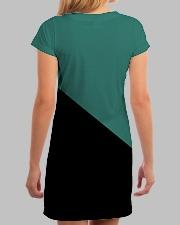 Egoist Flag All-over Dress aos-dress-back-lifestyle-3