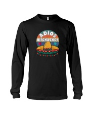 mexican fiesta cinco de mayo skull for 5th of may  Long Sleeve Tee tile
