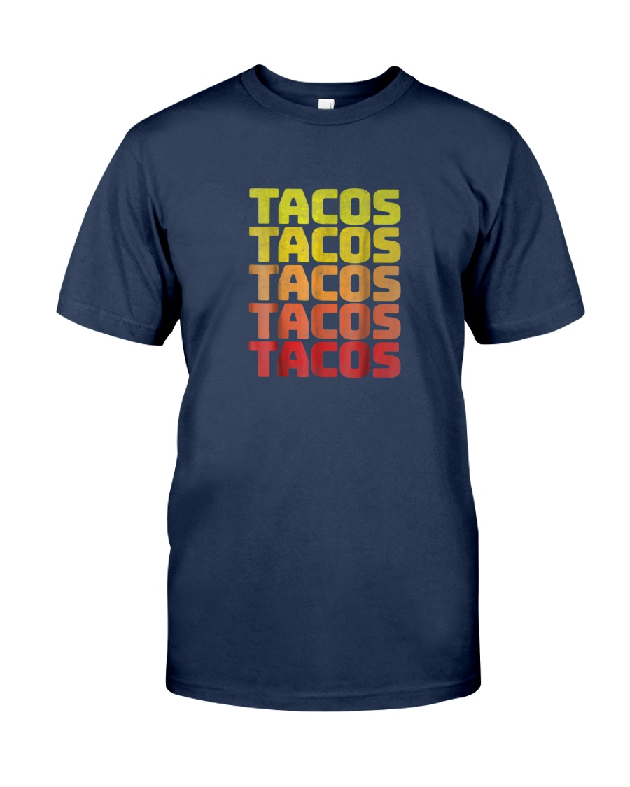 retro taco shirts vintage cinco de mayo  Classic T-Shirt