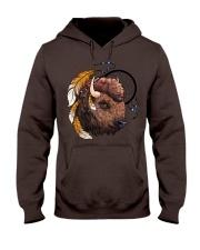 Indian Buffalo Hooded Sweatshirt thumbnail