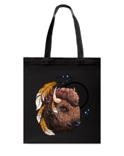 Indian Buffalo Tote Bag thumbnail