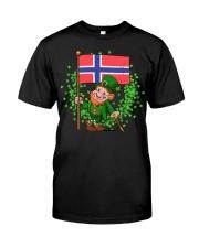 Norway St Patricks Day Norwegian Flag T-Shirt Classic T-Shirt tile