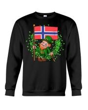 Norway St Patricks Day Norwegian Flag T-Shirt Crewneck Sweatshirt thumbnail