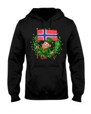 Norway St Patricks Day Norwegian Flag T-Shirt Hooded Sweatshirt thumbnail