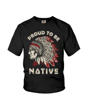 PROUD TO BE NATIVE Youth T-Shirt thumbnail
