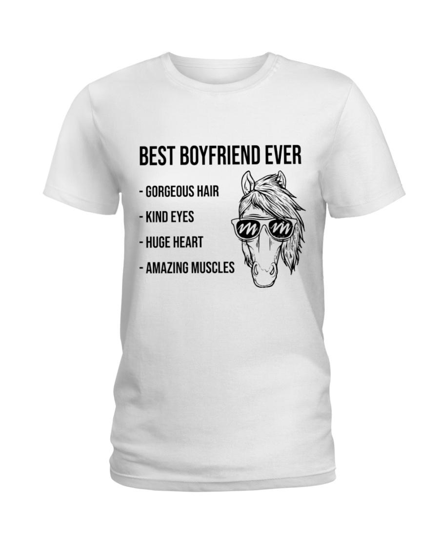 My Horse Boyfriend  LIMITED EDITION Ladies T-Shirt