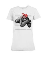 Sloth - LIMITED EDITION Premium Fit Ladies Tee thumbnail
