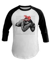 Sloth - LIMITED EDITION Baseball Tee thumbnail