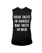 Good Taste in Horses Sleeveless Tee thumbnail