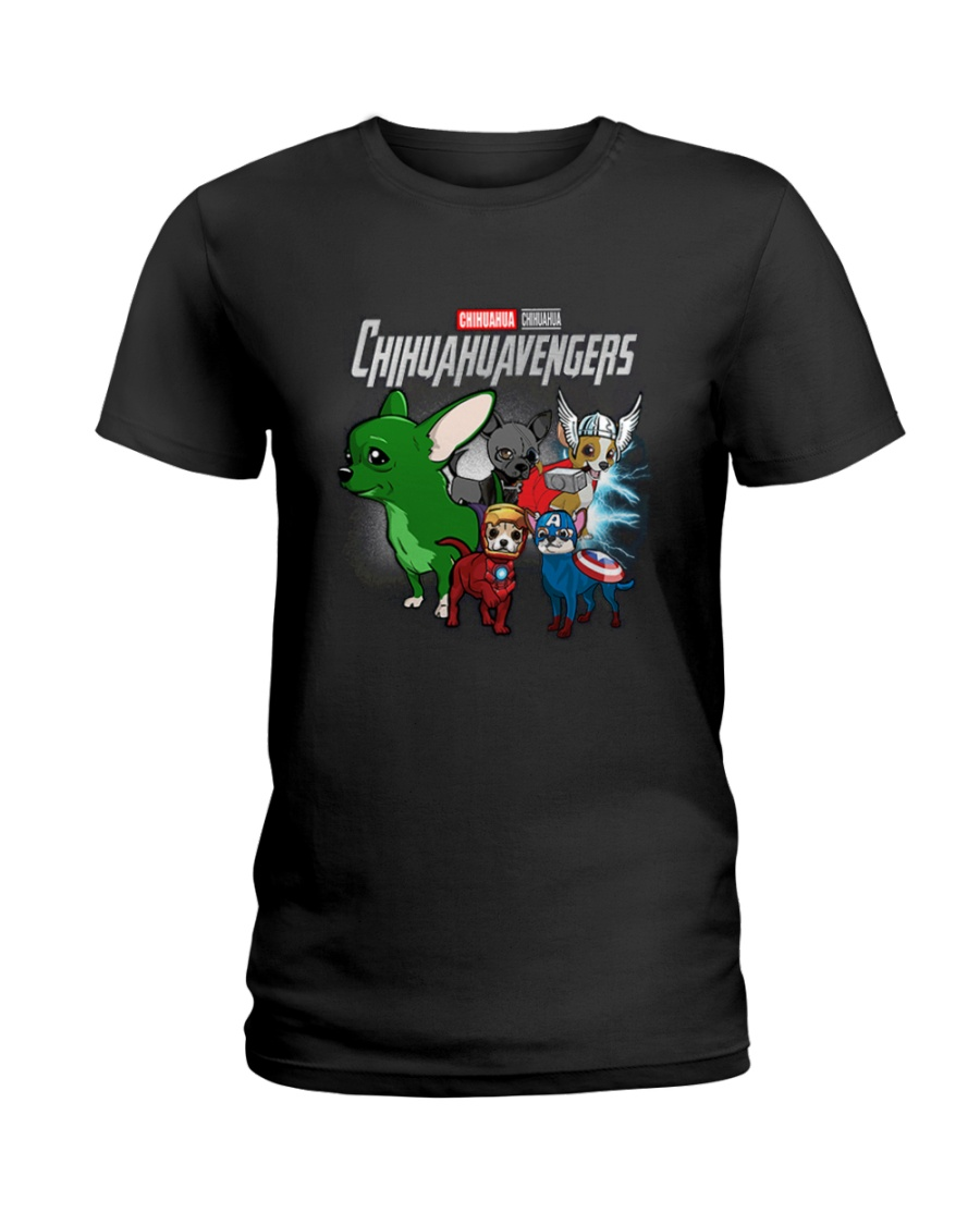 Chihuahua ABC Ladies T-Shirt